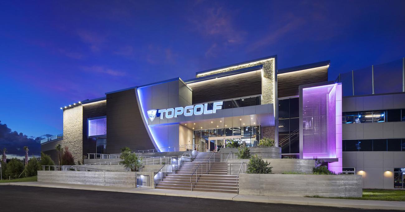 Topgolf Orlando Exterior Night_1300
